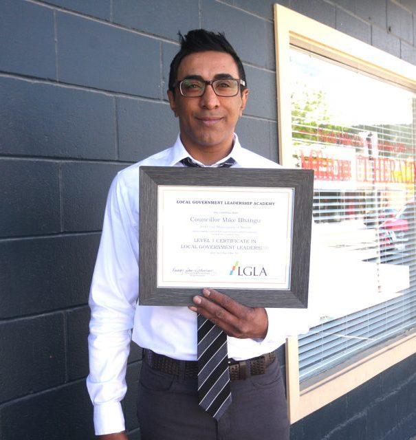 City of Merritt Councillor received Level I Certification